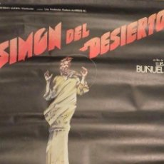 Cine: CARTEL POSTER CINE SIMON DEL DESIERTO LUIS BUÑUEL. Lote 121240511