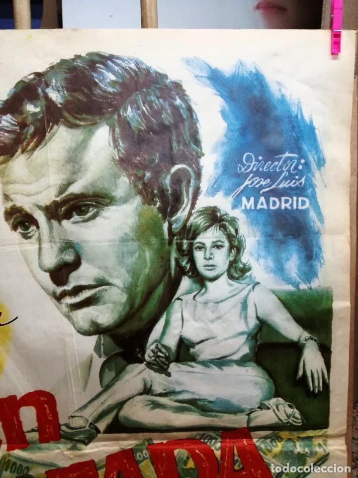 Cine: CARTEL LA GRAN COARTADA - ARTURO FERNANDEZ - MARISA DE LEZA - JOSE LUIS MADRID-100X70CM.AÑO 1963 - Foto 5 - 121271255