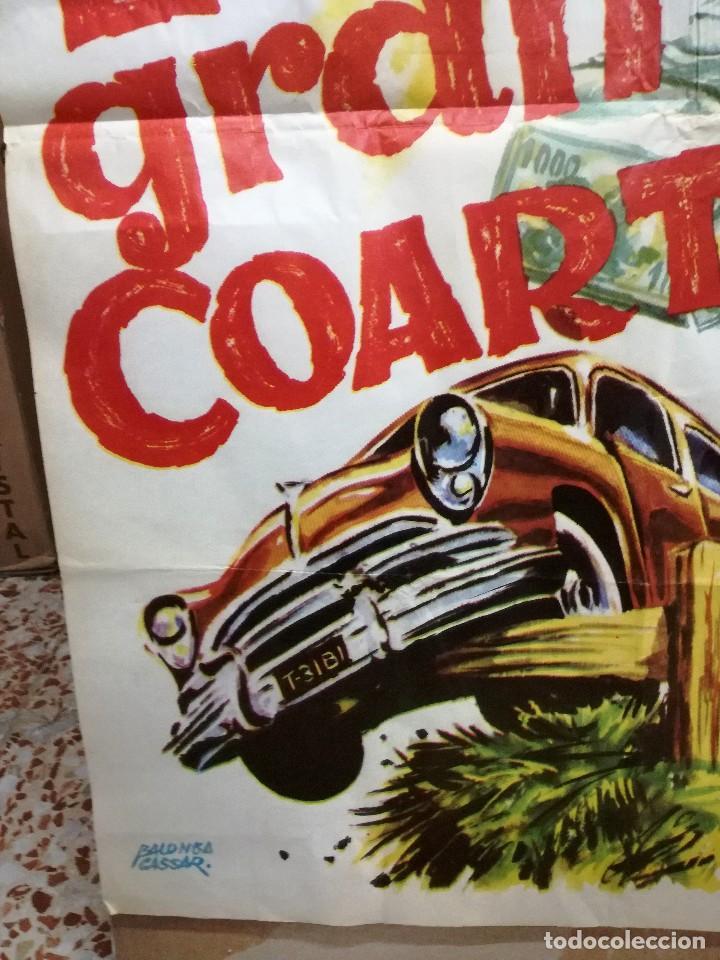 Cine: CARTEL LA GRAN COARTADA - ARTURO FERNANDEZ - MARISA DE LEZA - JOSE LUIS MADRID-100X70CM.AÑO 1963 - Foto 6 - 121271255