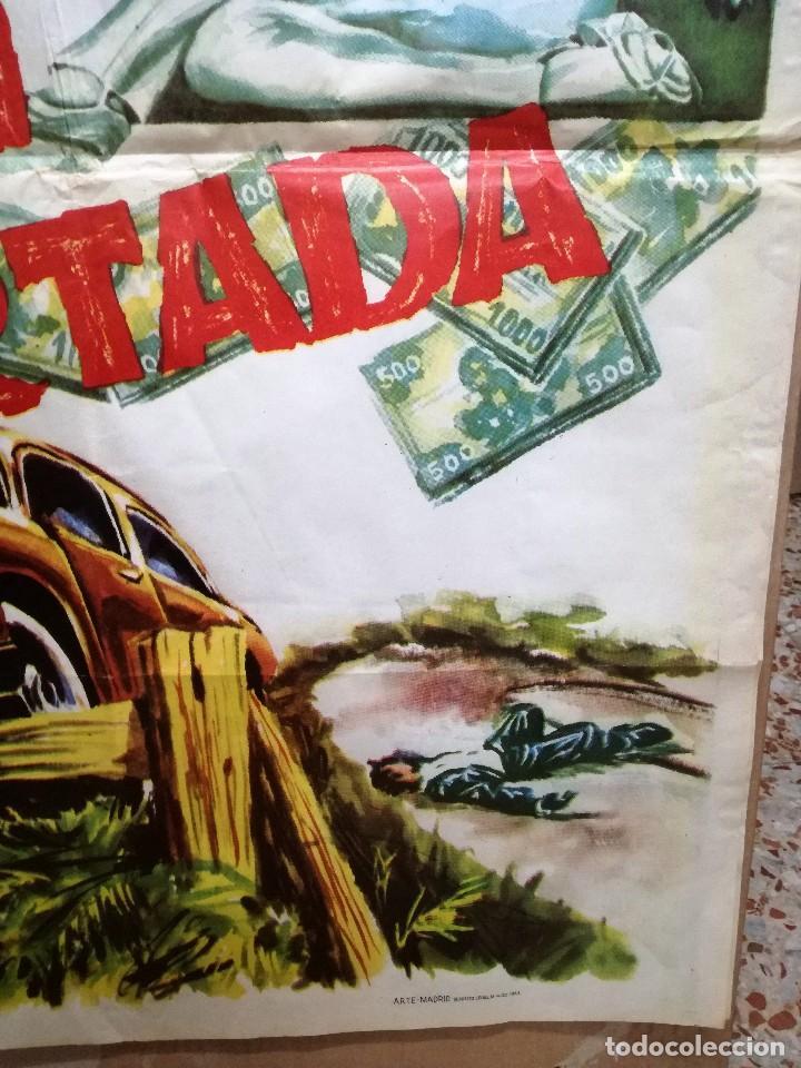 Cine: CARTEL LA GRAN COARTADA - ARTURO FERNANDEZ - MARISA DE LEZA - JOSE LUIS MADRID-100X70CM.AÑO 1963 - Foto 7 - 121271255