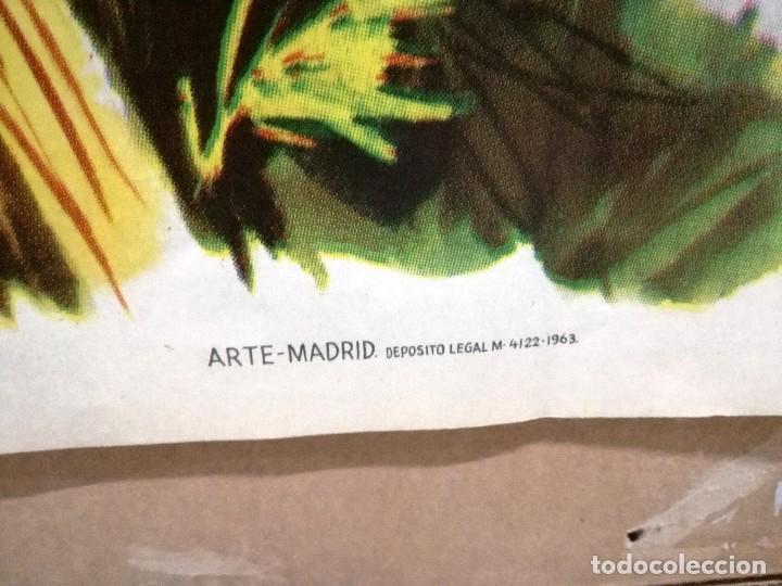 Cine: CARTEL LA GRAN COARTADA - ARTURO FERNANDEZ - MARISA DE LEZA - JOSE LUIS MADRID-100X70CM.AÑO 1963 - Foto 8 - 121271255