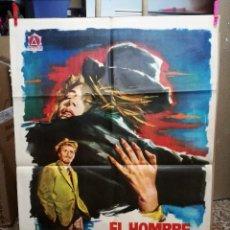Cine: EL HOMBRE DE PAJA - 1963 - JANO - CARTEL ORIGINAL 70 X 100. Lote 121273883