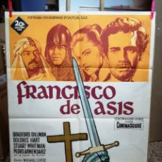 Cine: FRANCISCO DE ASIS BRADFORD DILLMAN SOLIGO POSTER ORIGINAL 70X100 ESTRENO. Lote 121274319