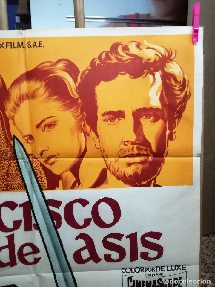 Cine: FRANCISCO DE ASIS BRADFORD DILLMAN SOLIGO POSTER ORIGINAL 70X100 ESTRENO - Foto 3 - 121274319