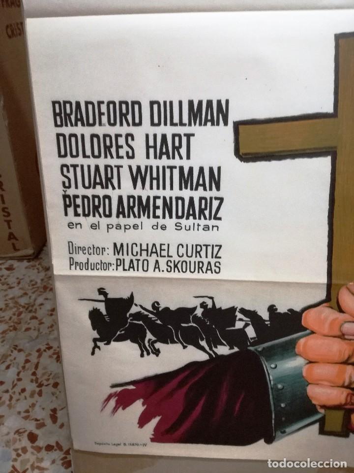 Cine: FRANCISCO DE ASIS BRADFORD DILLMAN SOLIGO POSTER ORIGINAL 70X100 ESTRENO - Foto 4 - 121274319