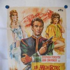 Cine: LA MUERTE SE LLAMABA MIRIAM - SOLIGO - CARTEL ORIGINAL 70 X 100. Lote 121288123