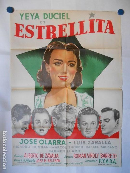 ESTRELLITA - CARTEL ORIGINAL 70 X 100 (Cine - Posters y Carteles - Comedia)