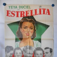 Cine: ESTRELLITA - CARTEL ORIGINAL 70 X 100. Lote 121294235