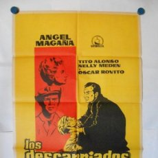 Cine: LOS DESCARRIADOS - CARTEL LITOGRAFICO ORIGINAL 70 X 100. Lote 121296431