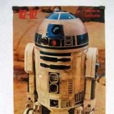 Cine: STAR WARS. R2-D2. POSTER Nº 2 DE LA REVISTA LECTURAS. 31X47 CMS.. Lote 121363359