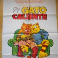 Cine: EL GATO CALIENTE - FRITZ THE CAT - 1977 - SUEVIA FILMS. Lote 121428591