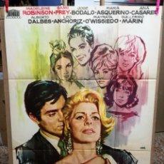 Cine: EL JUEGO DE LA VERDAD JOSE MARIA FORQUE POSTER ORIGINAL 70X100 DEL ESTRENO. Lote 210470331