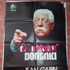 Cine: EL AFFAIRE DOMINICI CON JEAN GABIN POSTER DE 70X100. Lote 121624951