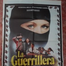 Cine: LA GUERRILLERA POSTER DE 70X100. Lote 121625019