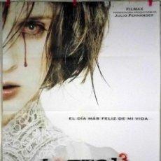 Cine: ORIGINALES DE CINE: REC 3 GÉNESIS (LETICIA DOLERA, DIEGO MARTÍN, MIREIA ROS, ISMAEL MARTÍNEZ) 70X100. Lote 121646515