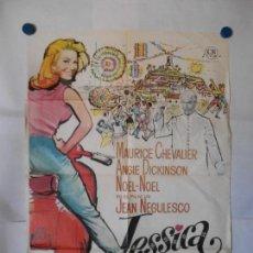 Cine: JESSICA - CARTEL ORIGINAL 70 X 100. Lote 121656239