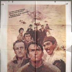 Cinema: YP57 LOS CAÑONES DE NAVARONE GREGORY PECK POSTER ORIGINAL 70X100 ESPAÑOL. Lote 121776803