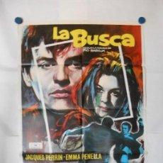 Cine: LA BUSCA - CARTEL ORIGINAL 70 X 100. Lote 121811223