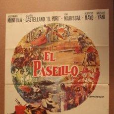 Cine: PASEÍLLO, EL (1969) MARISCAL, ANA/ 1968/ DOMÍNGUEZ. Lote 121828708