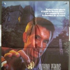 Cine: YP64 PSICOSIS 3 ANTHONY PERKINS POSTER ORIGINAL 70X100 ESTRENO. Lote 121889799