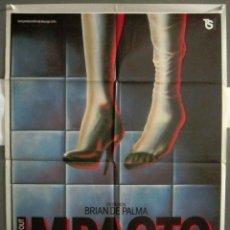 Cine: YP87 IMPACTO BRIAN DE PALMA JOHN TRAVOLTA NANCY ALLEN POSTER ORIGINAL 70X100 ESTRENO. Lote 121900235