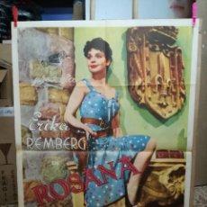 Cine: ROSANA -ERIKA REMBERG POSTER ORIGINAL ESTRENO 70X100. Lote 121902751