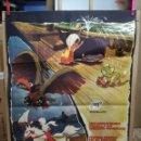 Cine: SIMBAD EL MARINO TOEI ANIMACION JAPONESA POSTER ORIGINAL 70X100 ESTRENO AÑO 1964. Lote 121903159