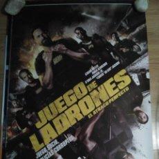 Cine: JUEGO DE LADRONES - APROX 70X100 CARTEL ORIGINAL CINE (L57). Lote 121925303