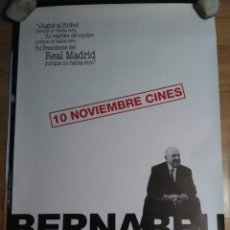 Cine: BERNABÉU - APROX 70X100 CARTEL ORIGINAL CINE (L57). Lote 121925639