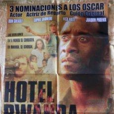 Cine: POSTER CARTEL DE CINE HOTEL RWANDA. Lote 121941096