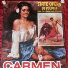 Cine: POSTER CARTEL DE CINE CARMEN. Lote 121963316