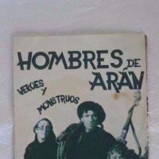 Cine: FOLLETO MANO CINE HOMBRES DE ARAN. Lote 122040467