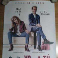 Cine: CARIÑO, YO SOY TU - APROX 70X100 CARTEL ORIGINAL CINE (L58). Lote 122041195