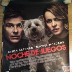 Cine: NOCHE DE JUEGOS - APROX 70X100 CARTEL ORIGINAL CINE (L58). Lote 122041467