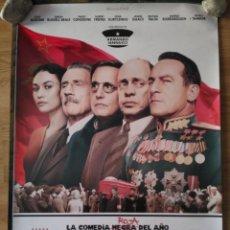Cine: LA MUERTE DE STALIN - APROX 70X100 CARTEL ORIGINAL CINE (L58). Lote 122041803