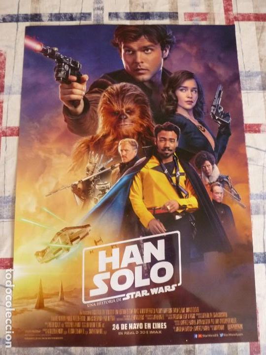 POSTER CINE (30 X 42) HAN SOLO -UNA HISTORIA DE STAR WARS (Cine - Posters y Carteles - Ciencia Ficción)
