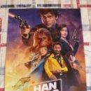 Cine: POSTER CINE (30 X 42) HAN SOLO -UNA HISTORIA DE STAR WARS. Lote 122240279