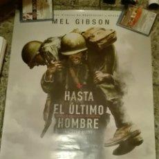 Cine: POSTER ORIGINAL HASTA EL ULTIMO HOMBRE 100X70. Lote 122294208