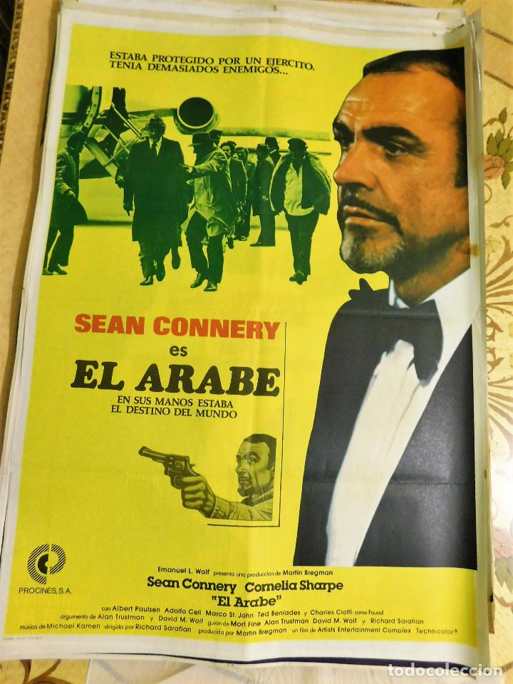 cartel original cine el arabe sean connery - Comprar Carteles y ...