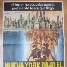 Cine: CARTEL CINE, NUEVA YORK BAJO EL TERROR DE LOS ZOMBI, ZOMBI 2, 1980, C1374. Lote 122489639