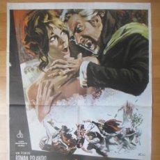 Cine: CARTEL CINE, EL BAILE DE LOS VAMPIROS, ROMAN POLANSKI, 1979, C1382. Lote 122490607
