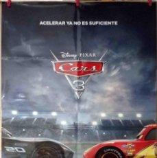 Cine: ORIGINALES DE CINE: CARS 3 PIXAR, BRIAN FEE (ANIMACIÓN) 70X100. Lote 122602907