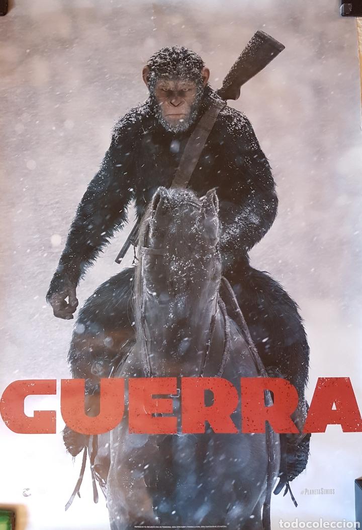 POSTER LA GUERRA DE LOS SIMIOS (Cine - Posters y Carteles - Ciencia Ficción)