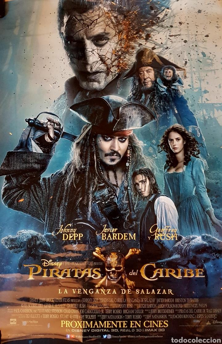 CARTEL PIRATAS DEL CARIBE.LA VENGANZA DE SALAZAR (Cine - Posters y Carteles - Aventura)