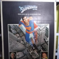 Cine: SUPERMAN EL FILM CHRISTOPHER REEVE POSTER ORIGINAL 70X100. Lote 122722011