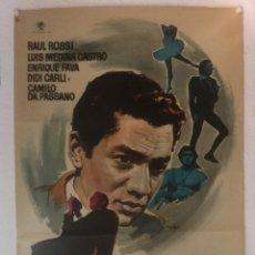 Cine: EL DELANTERO CENTRO - CARTEL POSTER ORIGINAL - RAUL ROSSI RENE MUJICA MAC. Lote 122793995