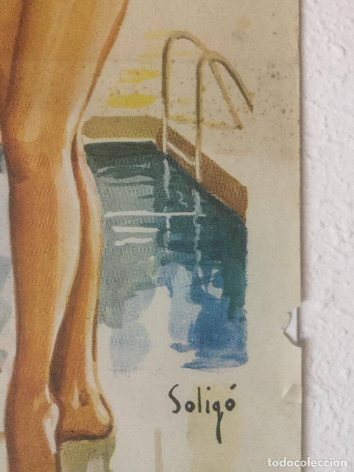 Cine: cupido contrabandista - cartel poster original - antonio ozores maria mahor soligo - Foto 2 - 122816567