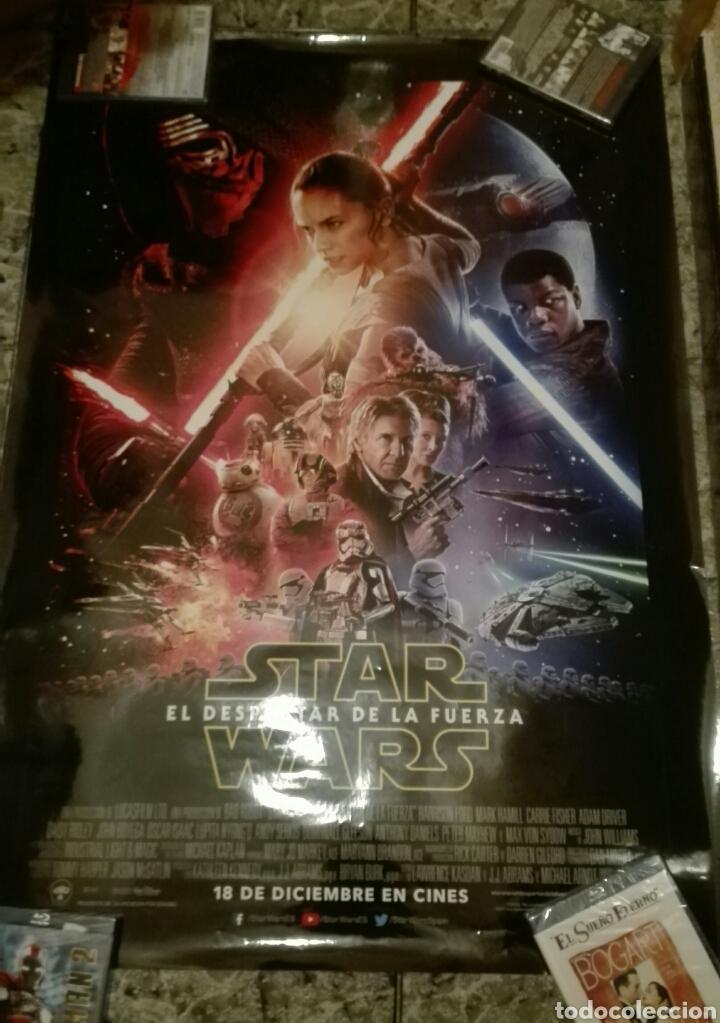 POSTER ORIGINAL STAR WARS EL DESPERTAR DE LA FUERZA 100X70 (Cine - Posters y Carteles - Ciencia Ficción)