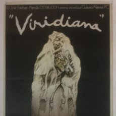 Cine: VIRIDIANA - POSTER CARTEL ORIGINAL - LUIS BUÑUEL SILVIA PINAL PACO RABAL FERNANDO REY IVAN ZULUETA. Lote 122886999