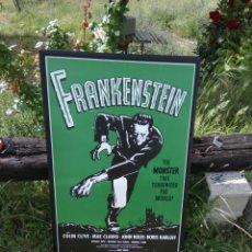 Cine: CARTEL PUBLICITARIO FRANKEINSTEIN. Lote 122973168